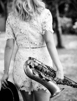 Julia Harrison solo sax